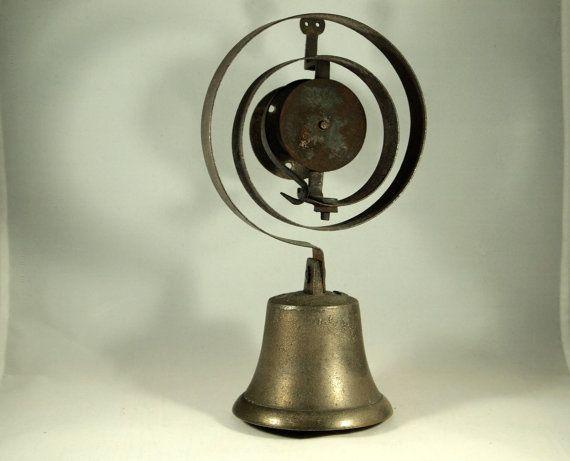 Antique Servants Bell Butlers Bell Victorian Doorbell