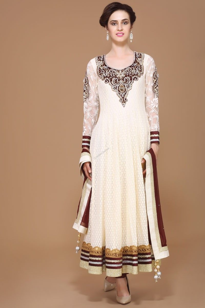 Asian designer online collection long anarkali churidar suit from