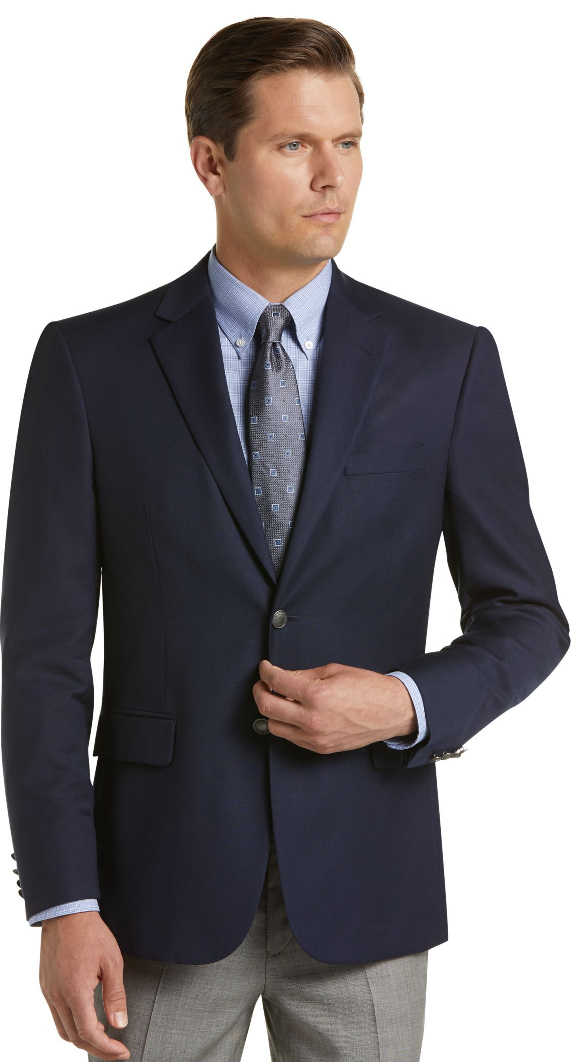 Traveler Collection Tailored Fit Blazer Big & Tall