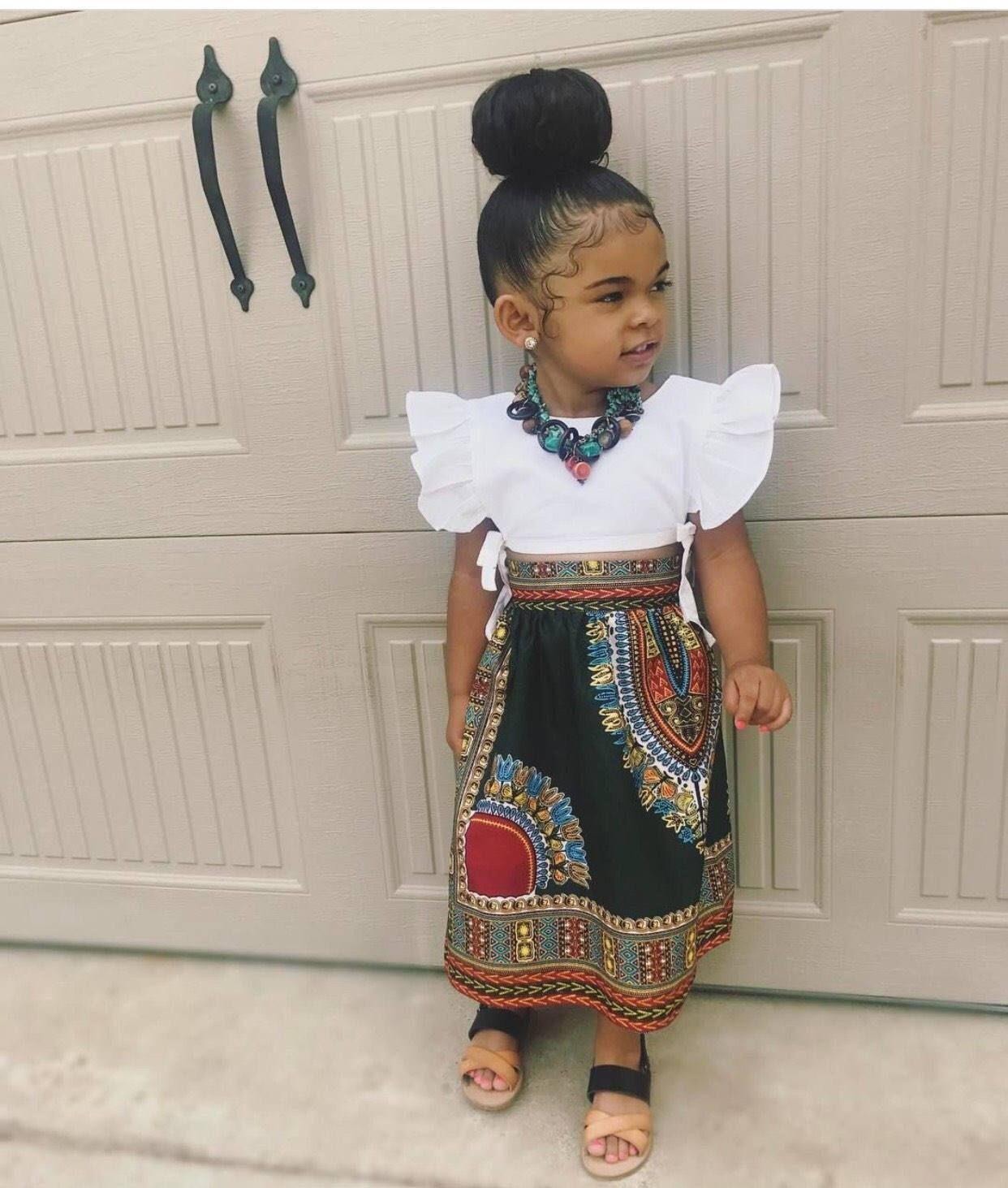 Dashiki Skirt Fashiontrendskids