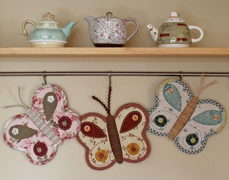 Wonderful DIY Cute Butterfly Pot Holder | Pinterest | Butterfly, Diy ...