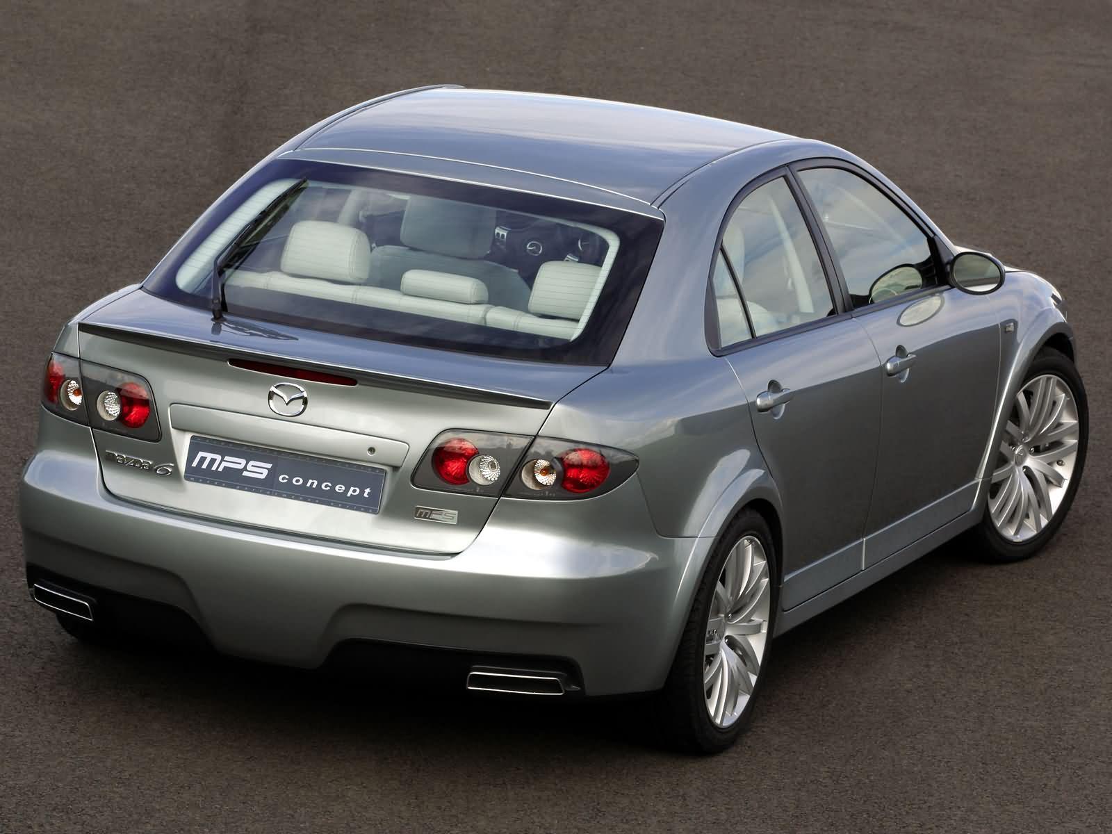 Mazda 6 Fiberglass Body Kit 20022008 T