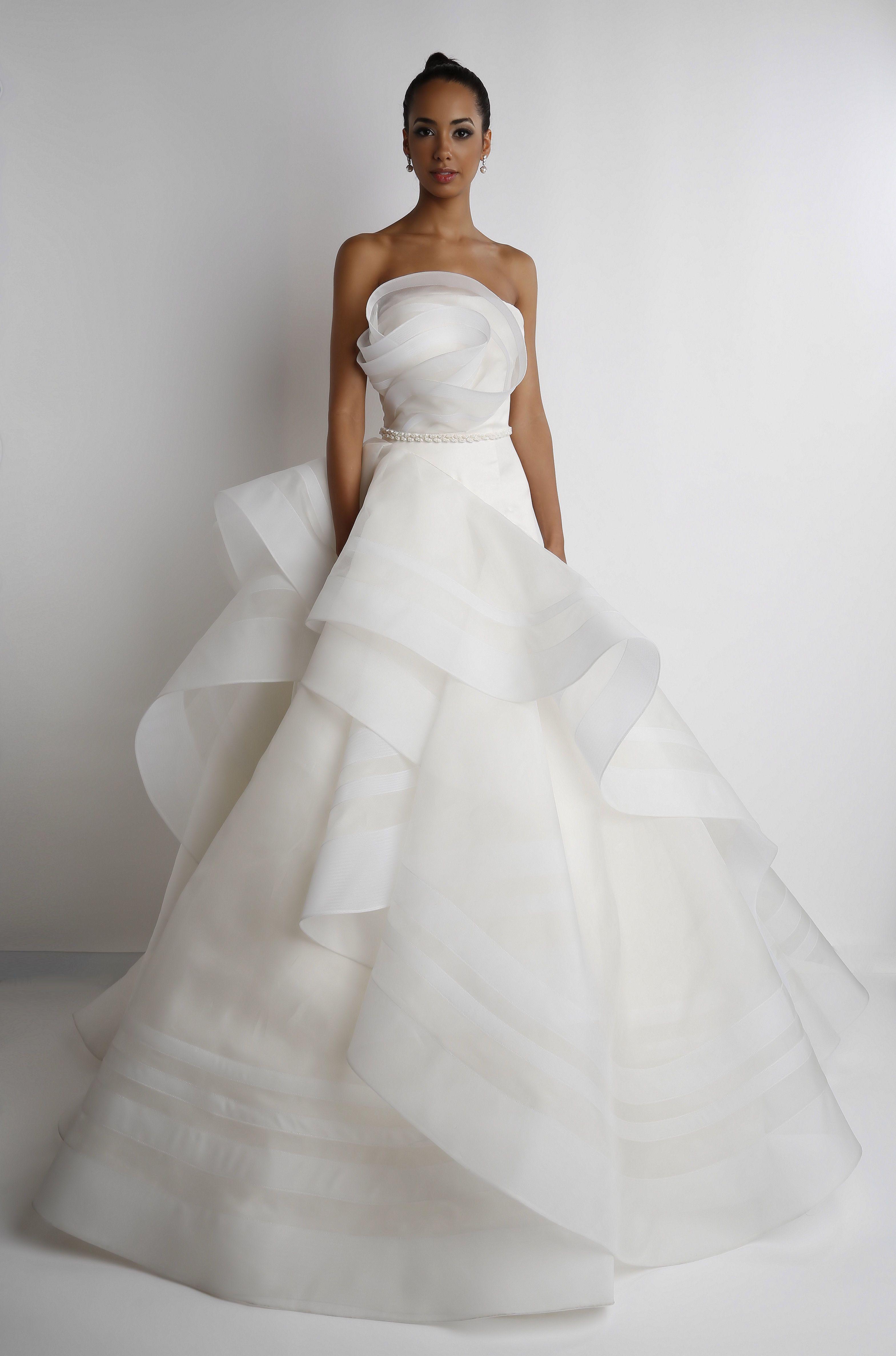 Quinn Bridal Gown by Rafael Cennamo | Rafael Cennamo Fashion ...