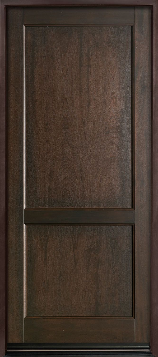 Entry door instock single solid euro technology wood with