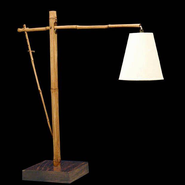 Artesanato Luminaria De Bambu ~ Luminaria Bambu Direcionada de Mesa bambu Pinterest Bambu, Luminárias e Mesinhas