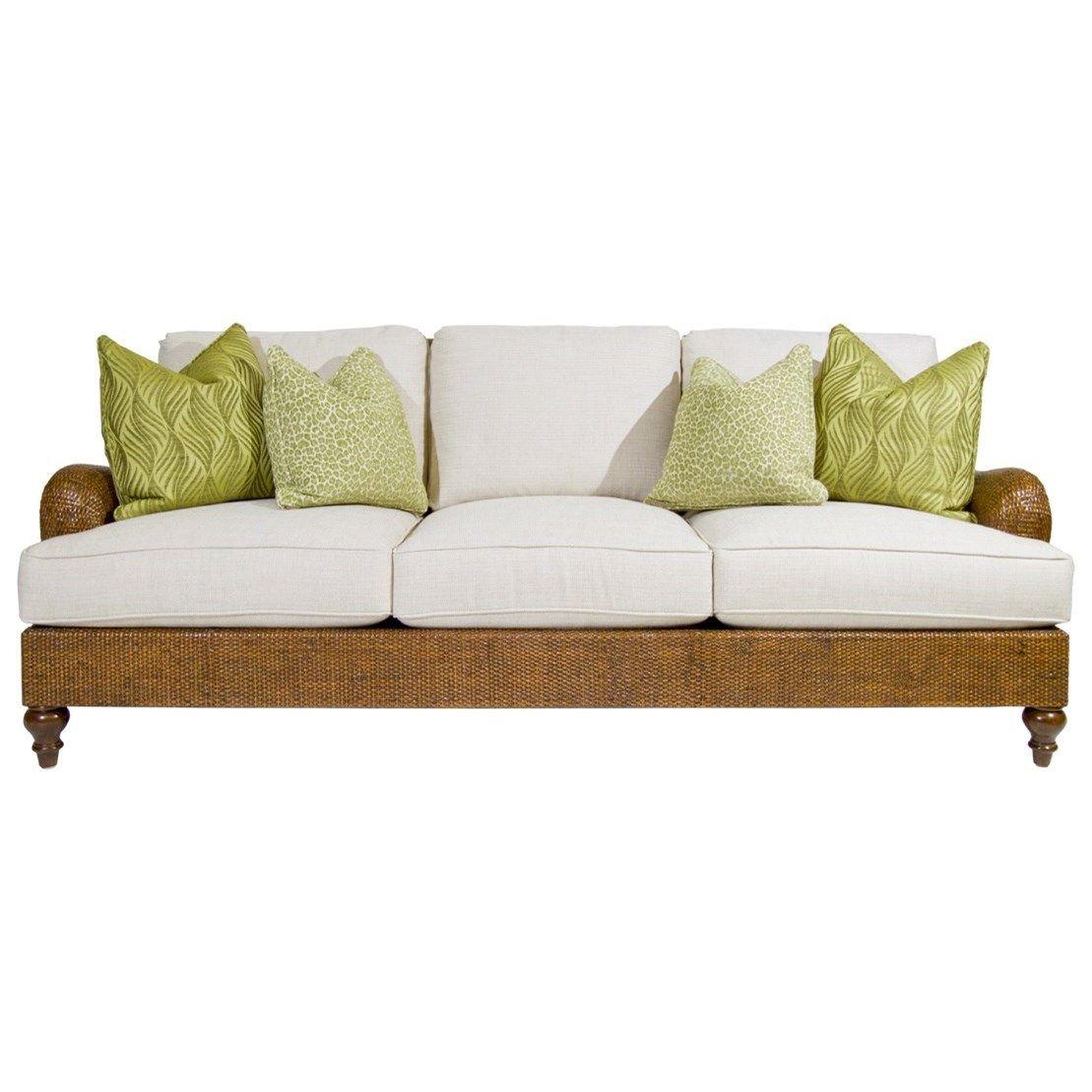 Bali Hai Harborside Sofa by Tommy Bahama Home at Hudson\'s Furniture ...