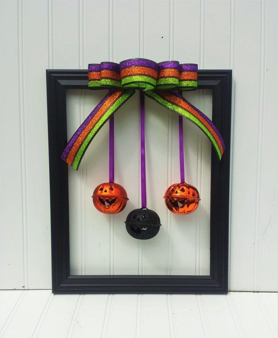 Pumpkin Halloween Wreath Halloween picture frames