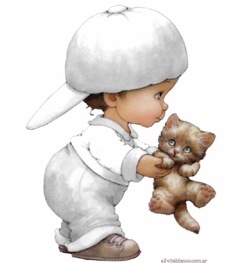 Рут морхед картинки малыш с шеном и котенком