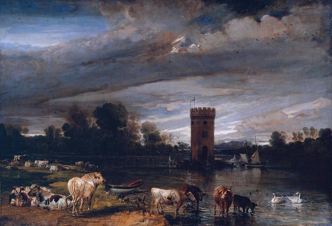 James Ward View in Tabley Park 1813-18