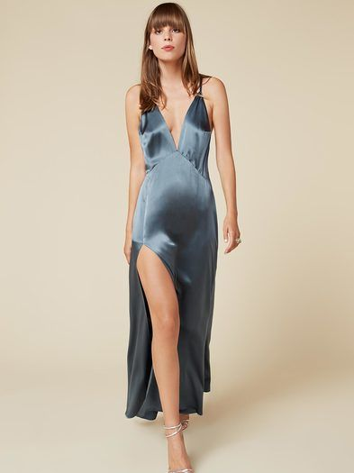 bc0737ba403 This is an ankle length dress with a high slit and adjustable
