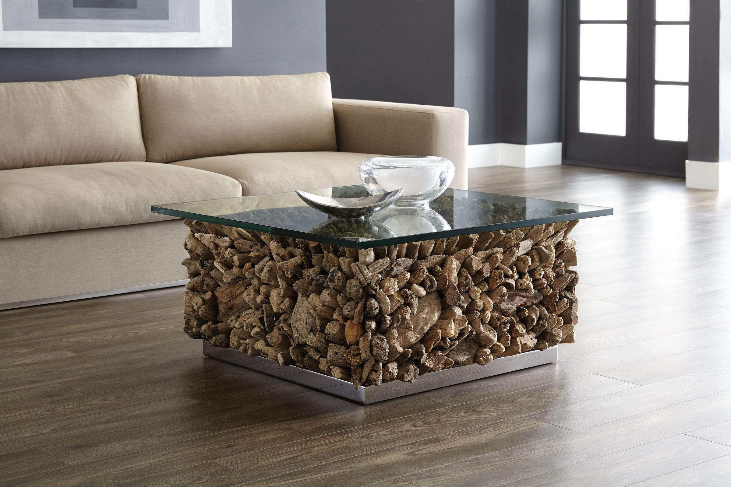 Visit Our Entire Collection Of Contemporary Transitional Furniture For The Modern Home Www Sunpan Com Coffee Table Driftwood Coffee Table Furniture [ 1600 x 2400 Pixel ]