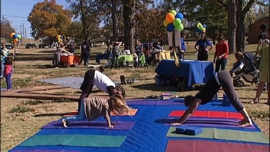 Yoga Safari Camp Tulsa, Oklahoma  #Kids #Events