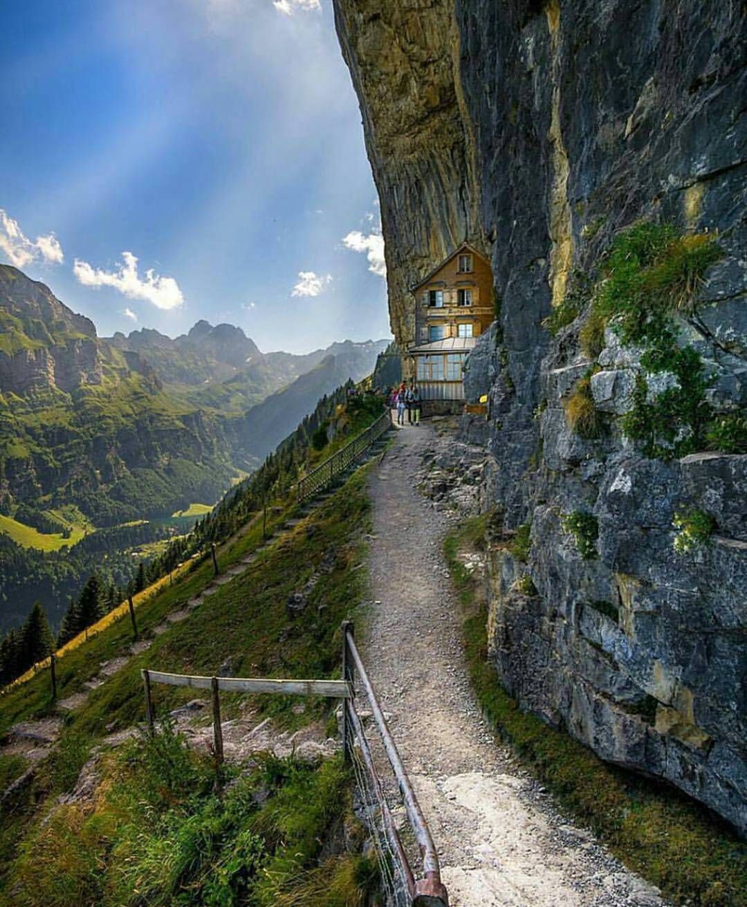 Ascher Guesthouse In Switzerland It Can Only Be Accessed By A Combination