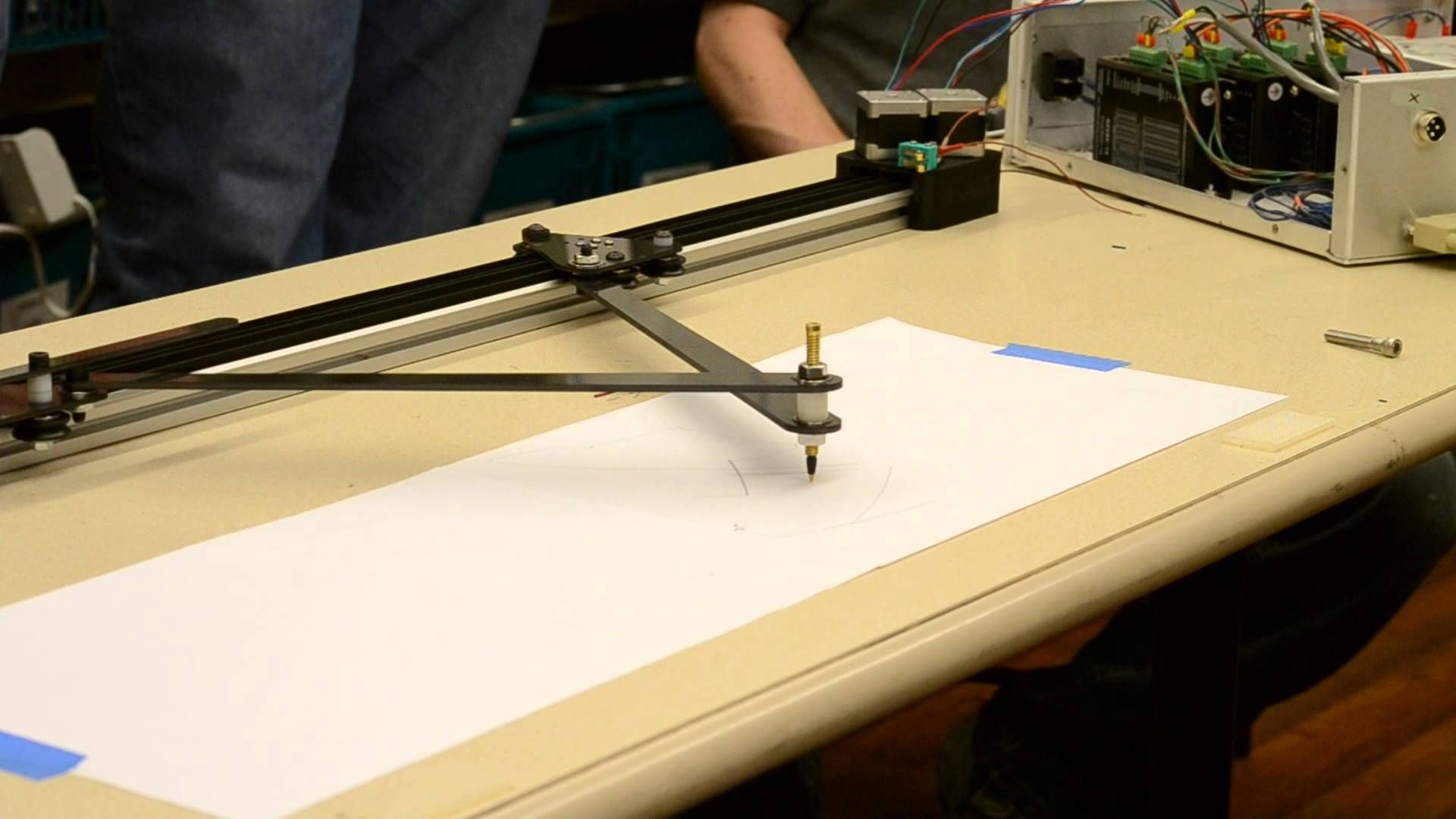 First Move Single Axis Draw Bot Drawing Machine First Move Draw