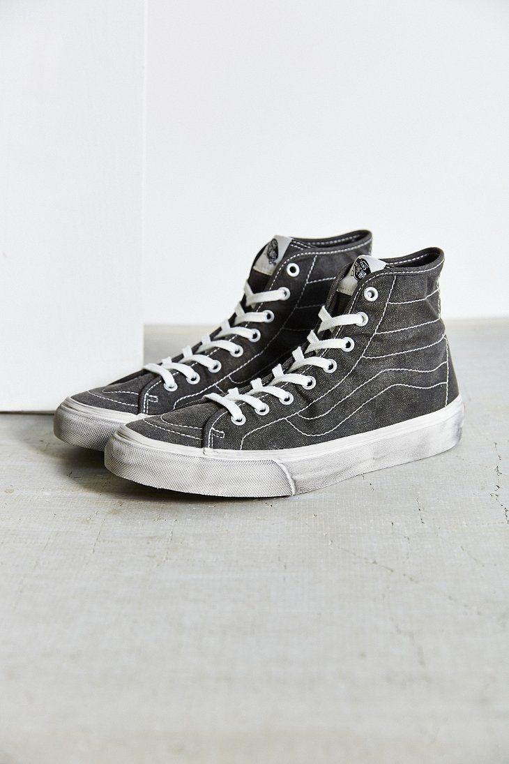 Vans Overwashed Sk8 Hi Decon Sneaker