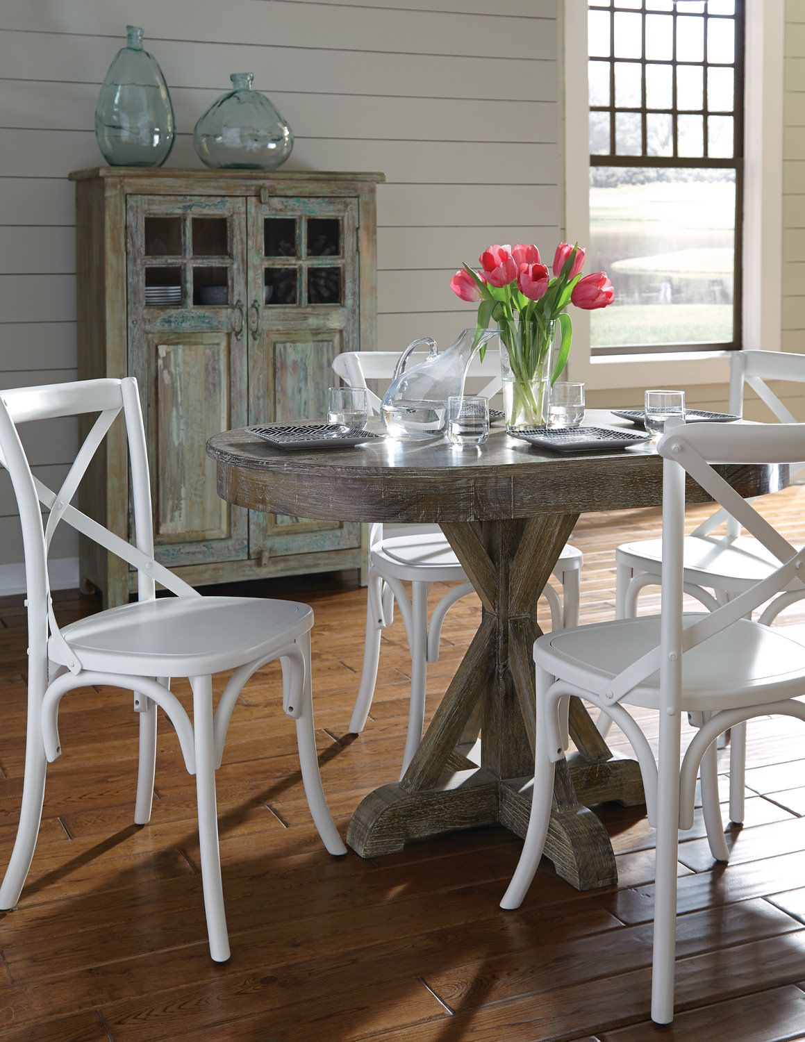 Small round kitchen table  Small table for breakfast nook  GLENVIEW UPDATES KitchenDinning