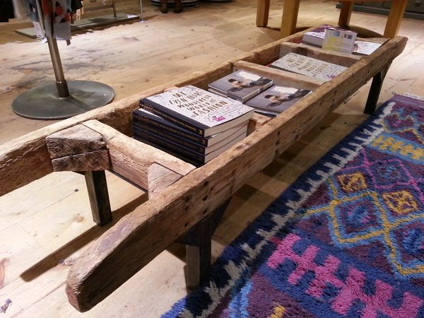 Very cool coffee table anthropologie in santana row san for Cool coffee tables diy