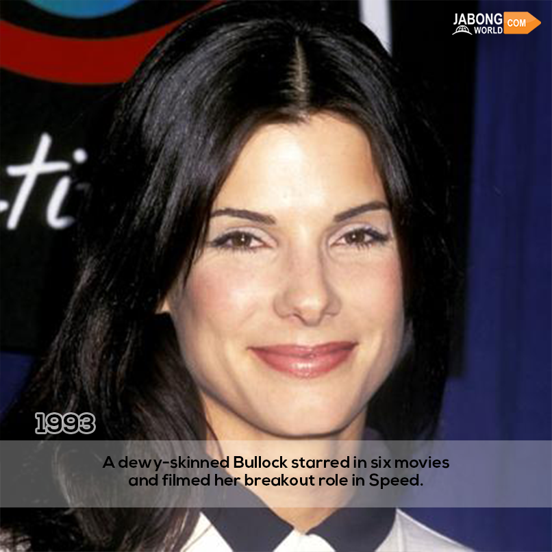 Pin on TRIBUTE! THE Transformation OF Sandra Bullock!