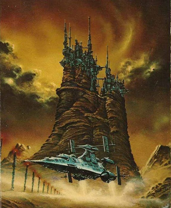 10 Cool Sci Fi Retro Artworks: 70s Sci Fi Art, Science