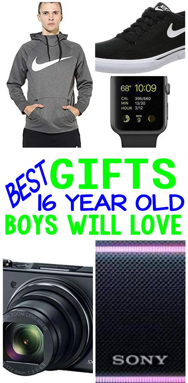 BEST Gifts 16 Year Old Boys Will Love | 15 year old ...