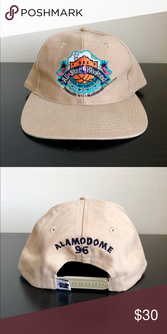 1996 NBA All Star San Antonio Game SnapBack 1996 NBA All Star San Antonio Game  SnapBack Accessories Hats b2363818fcc0