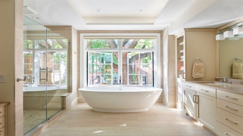 This Article Explains The 15 Ideas That Will Imprint Future Architectural Styles Beige Bathroom Relaxing Bathroom Bathroom Design