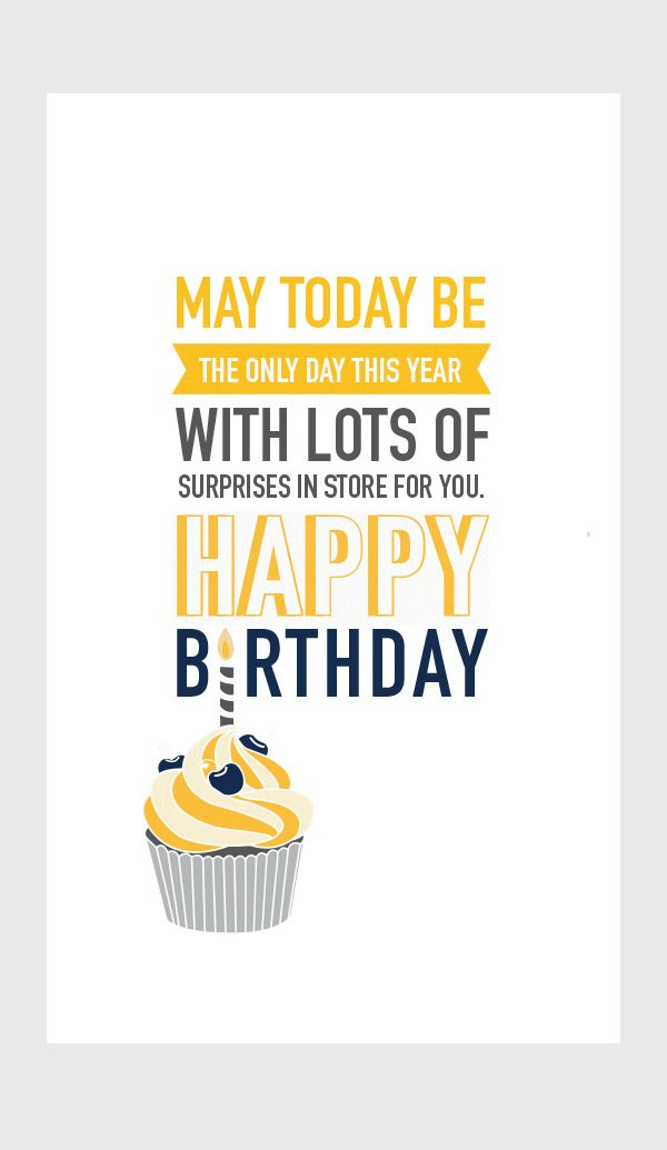 happy birthday https www behance net gallery 16631323 corporate birthday card typography