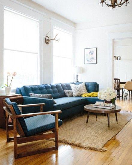 Bleu scandinave shake my blog un appartement à la déco vintage