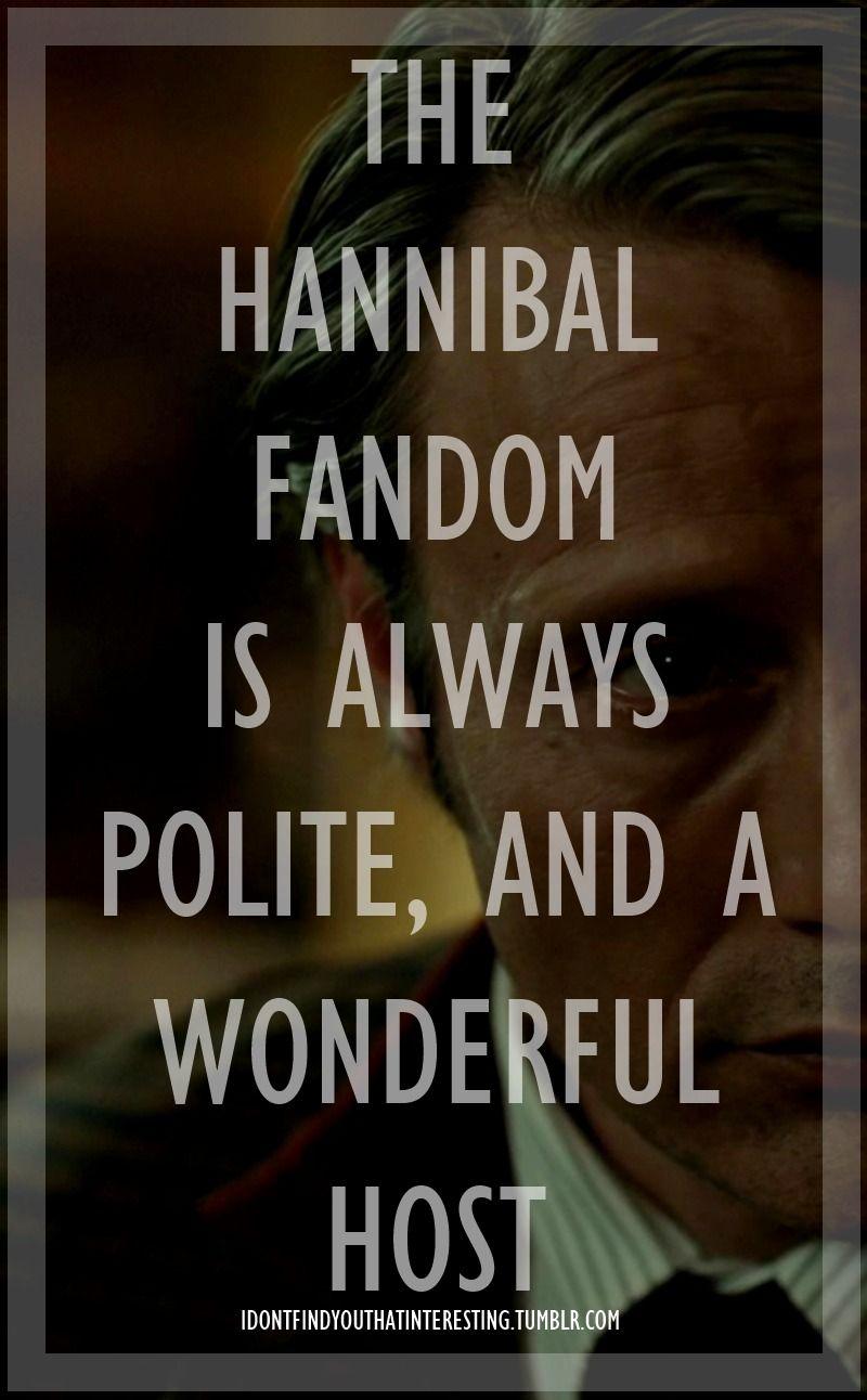 idontfindyouthatinteresting:  The Hannibal Fandom Series 3