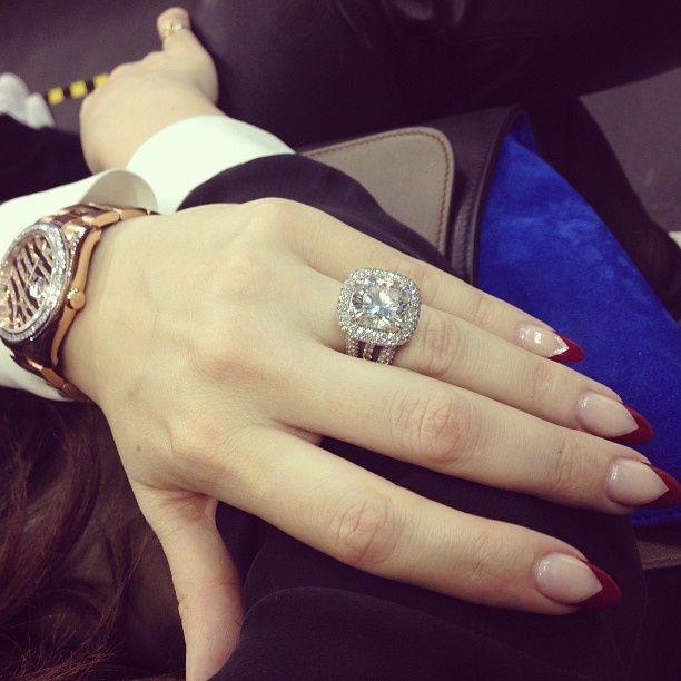 Khloe Kardashian Nails | Khloe Kardashian nails | Primp | Kardashian ...