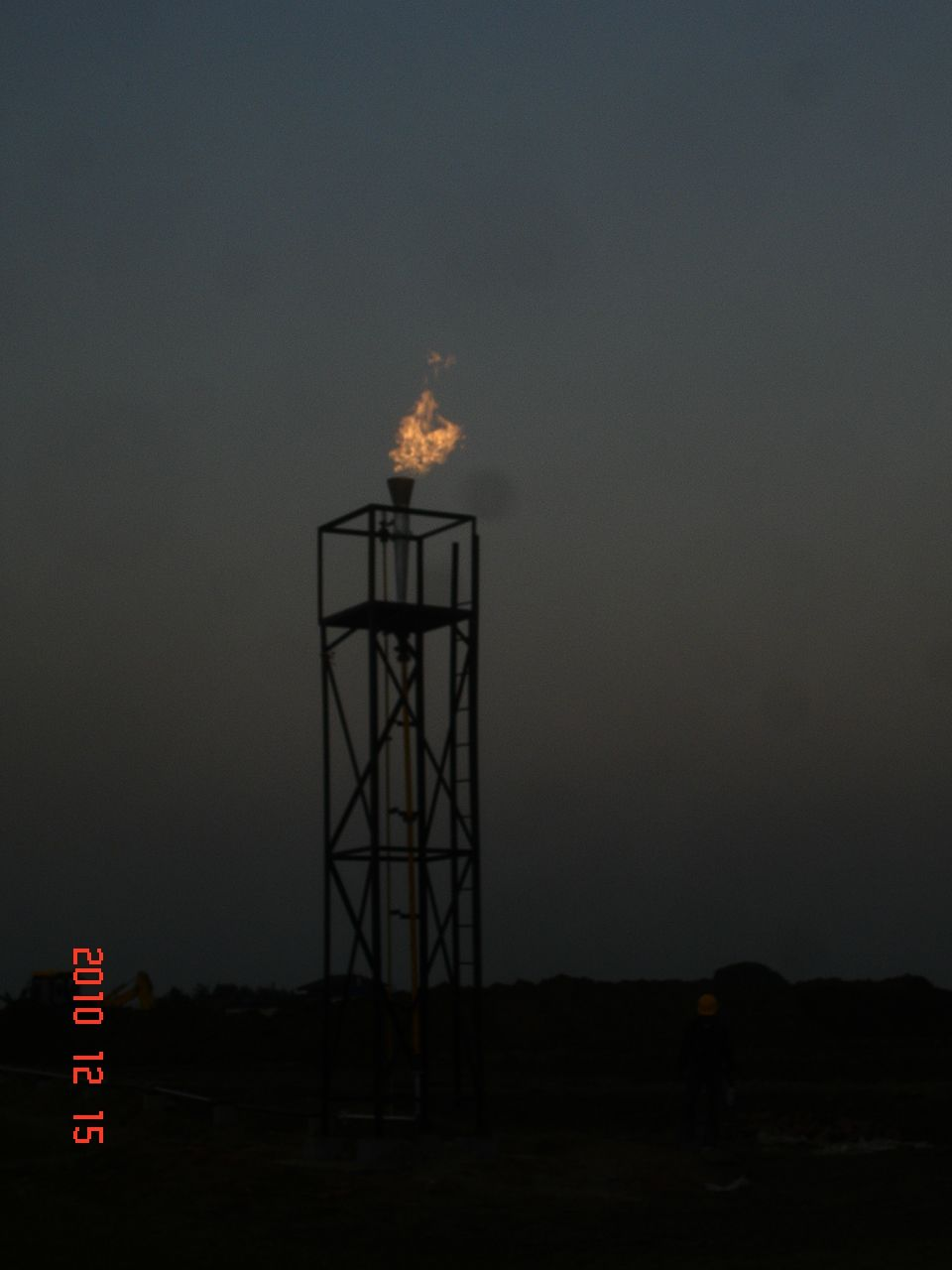 flare gas system