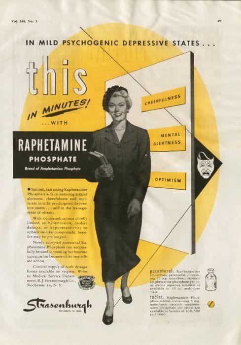Vintage Drug Ads