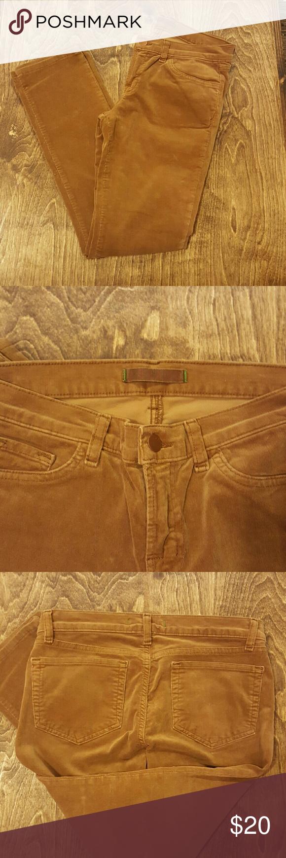 J brand velour  pencil pants Color caramel size 28 ask questions before purchasing no returns j brand  Jeans