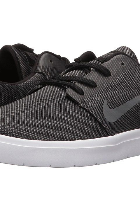 Nike SB Portmore Ultralight Canvas (Black/Dark Grey) Men\u0027s Skate Shoes -  Nike
