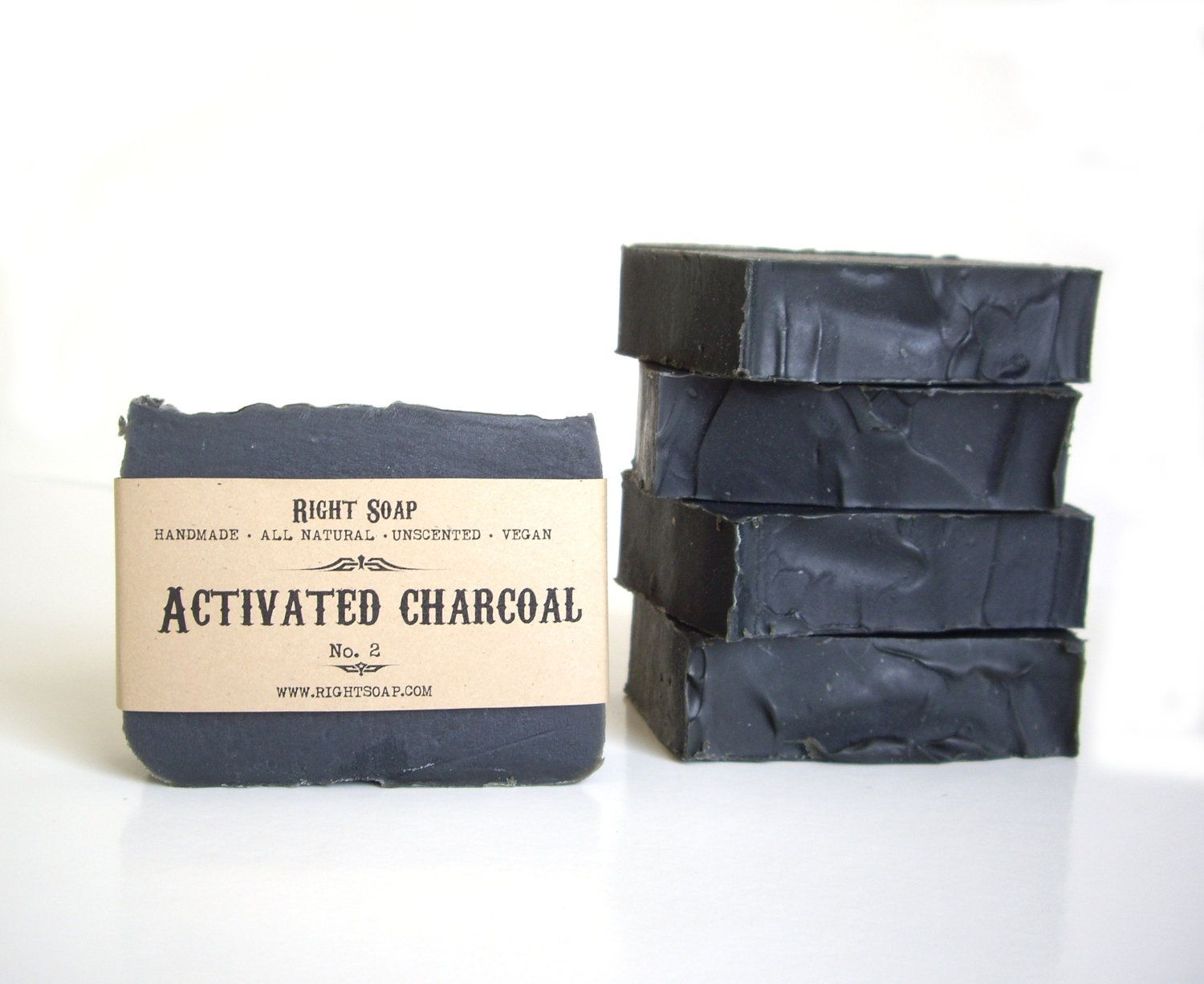 Activated Charcoal Soap Detox Bar Soaps Face and Body