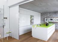 Offene Küche Schrankwand