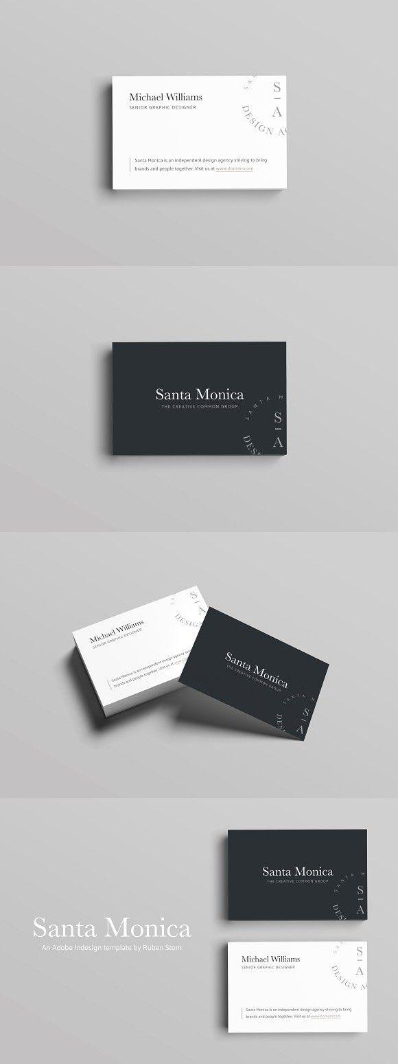 Santa monica business card pinterest business cards business santa monica business card pinterest business cards business and card templates colourmoves