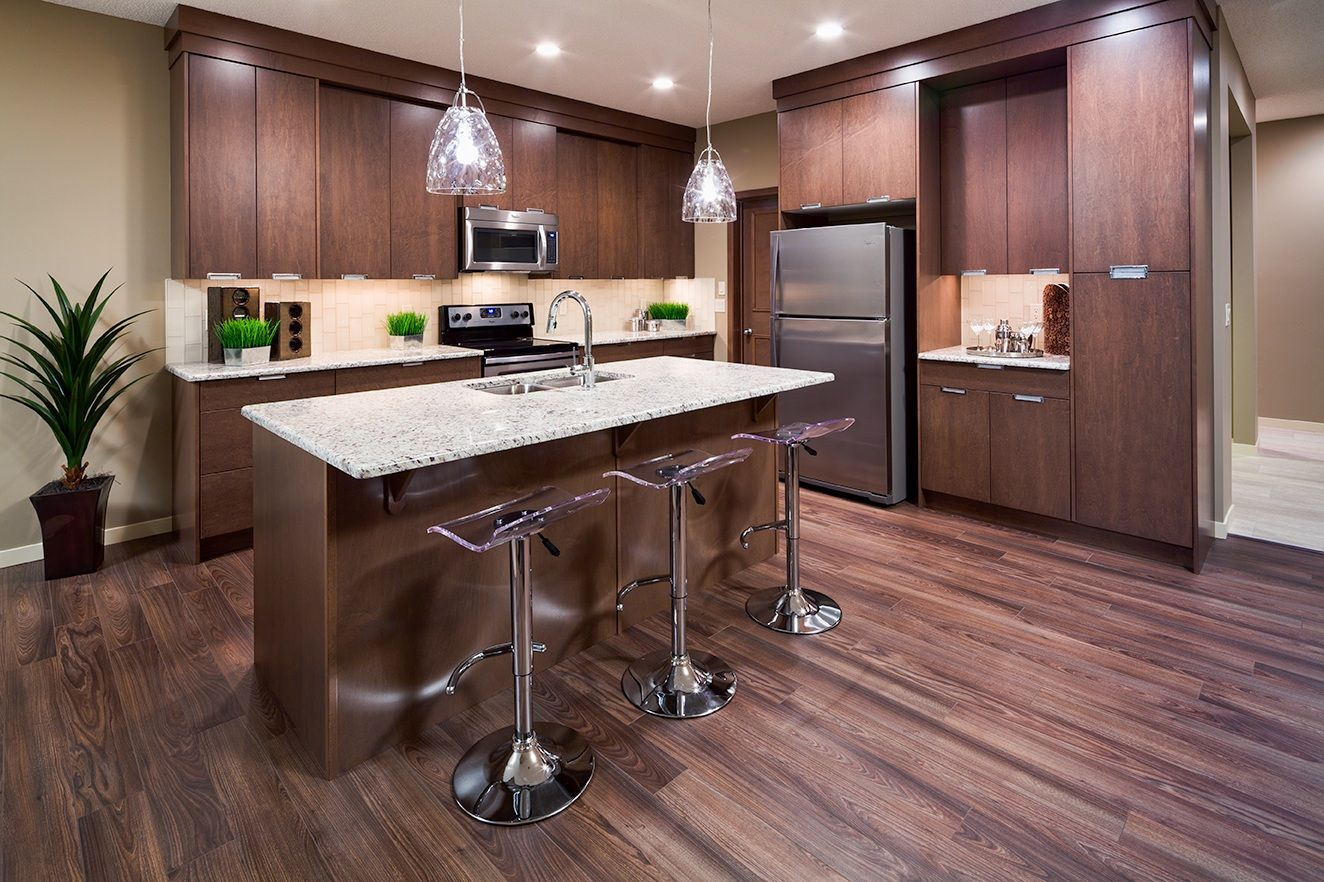Showhome at 214 Cranston Gate SE, Calgary AB. Photo by Ted