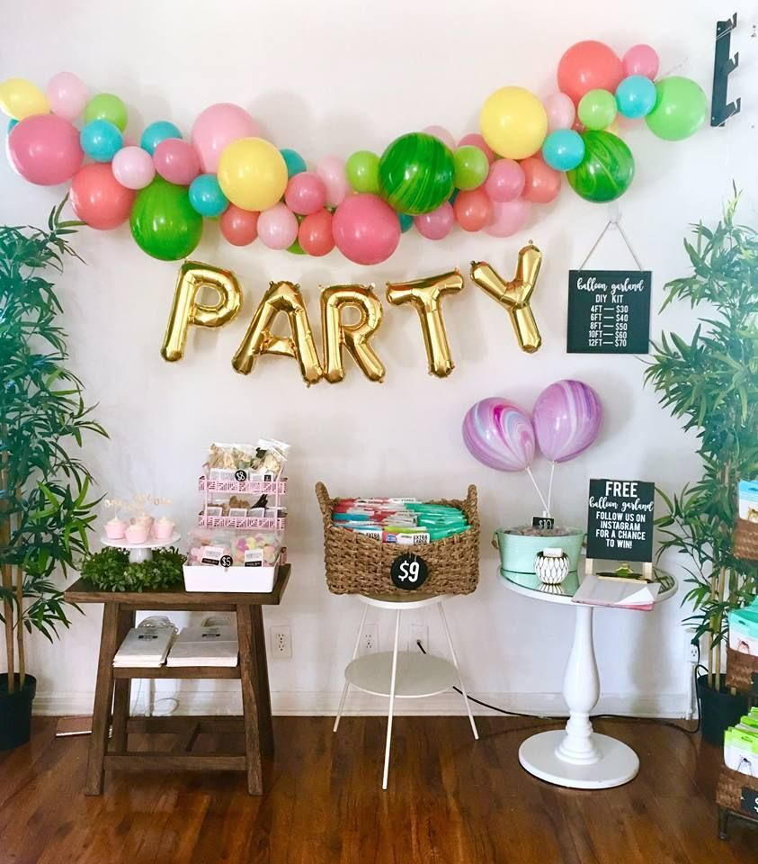 DIY Balloon Garland Kit Choose Your Own Colors Balloon