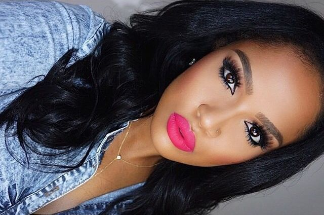 21 Women Who Prove Bright Makeup Is Better  Makeup  Hot -1088