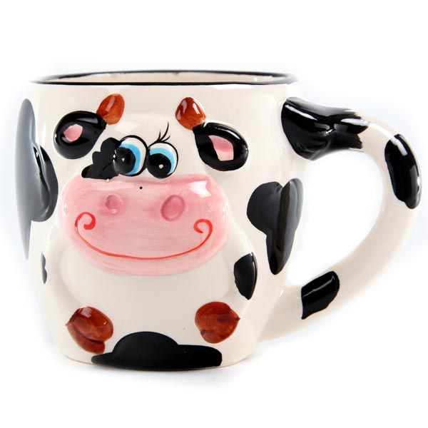 Cow Mug, Tea Mugs, Soup Mugs
