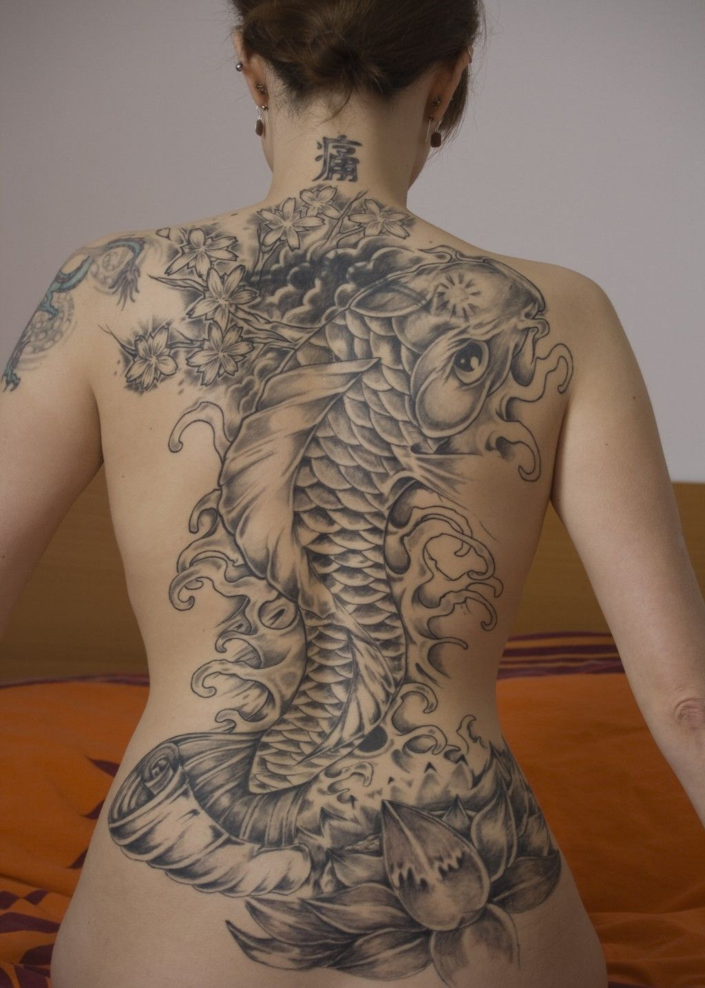 The Lotus The Carp And The Dragon Tatouage Pinterest Tattoos