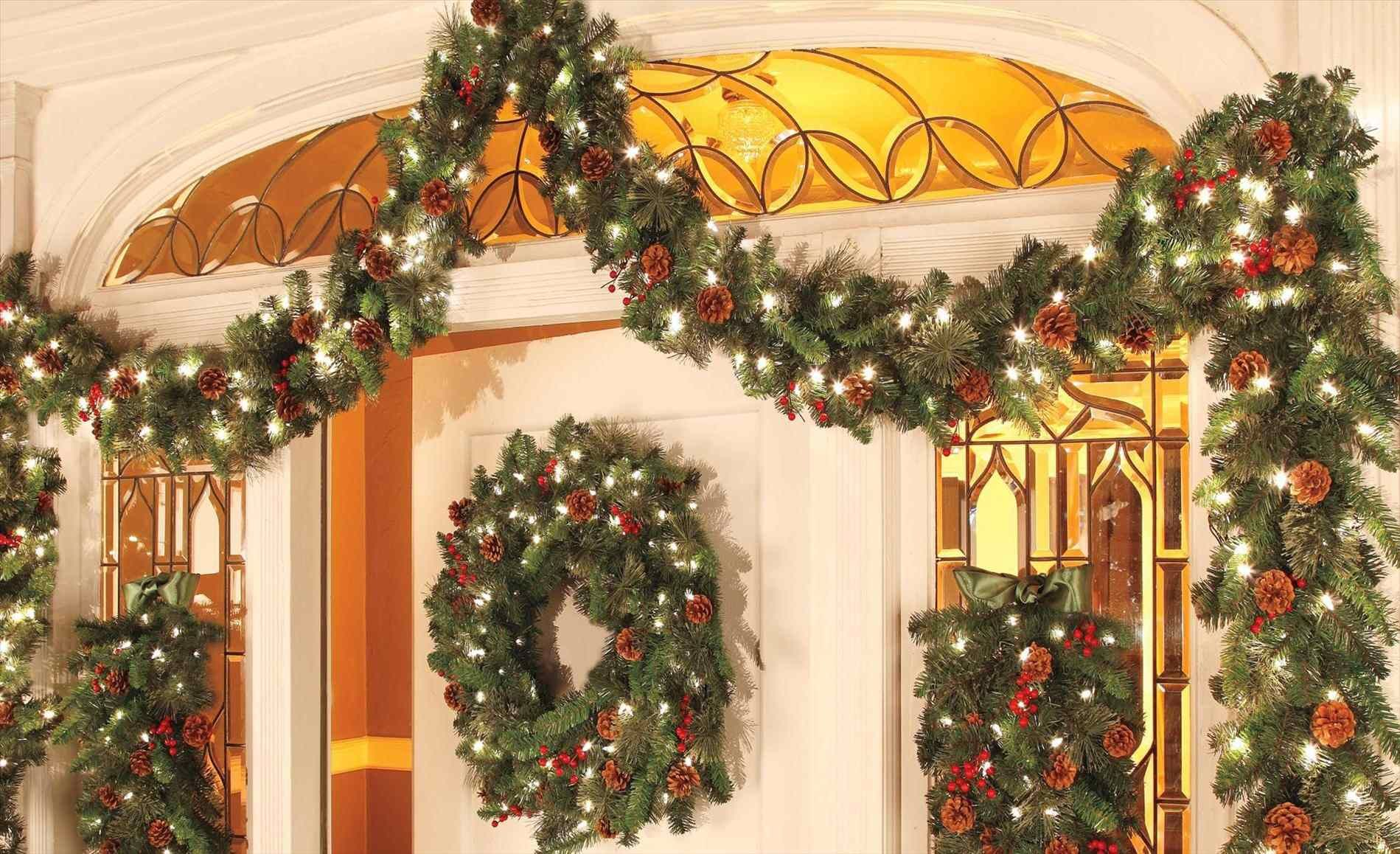 Image Result For How To Hang Garland Around Door