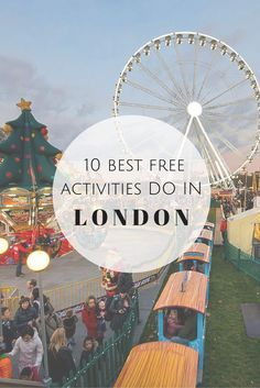 London's Top Free Attractions | budget travel tips | @dirtywithme
