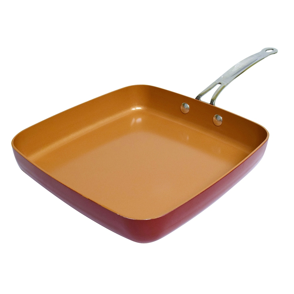 Copper Chef  As Seen On TV  Ceramic  Fry Pan  9-1//2 in.