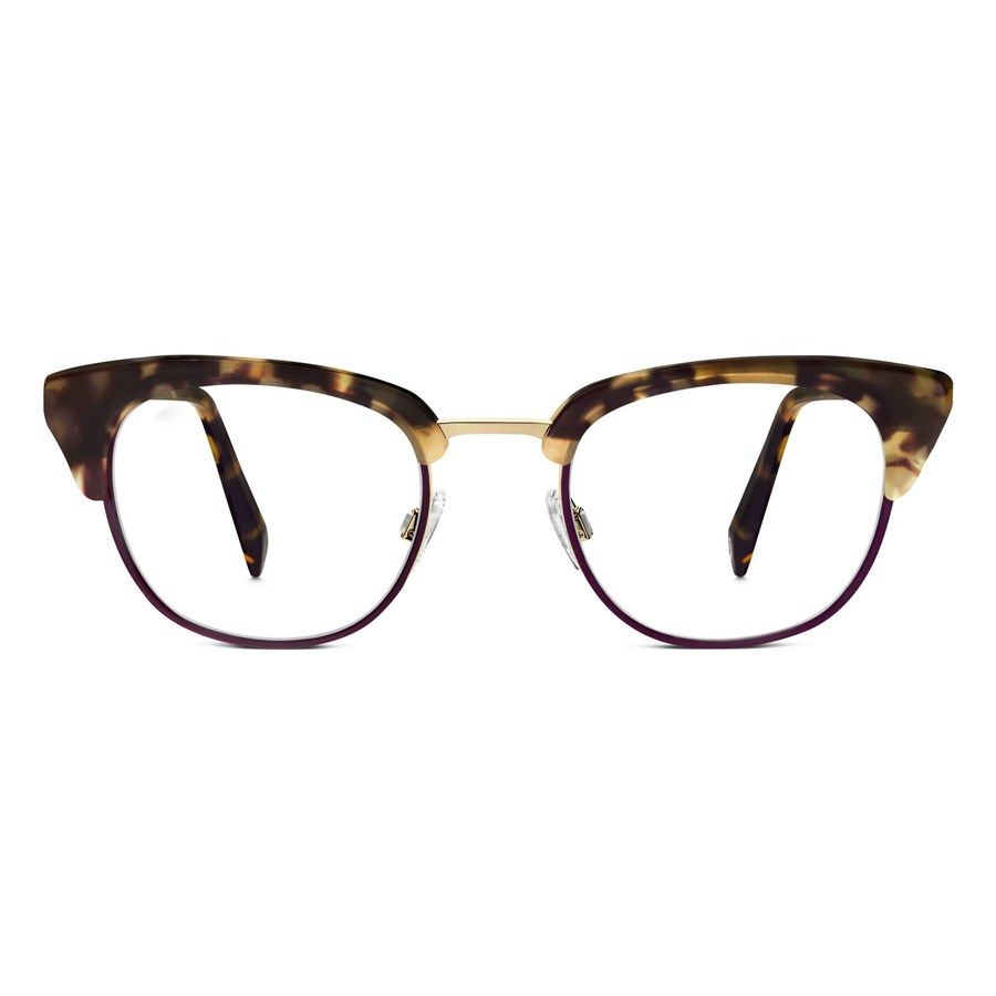 7f3aa44bcbd Get that cat-eye look with this rosewood tortoise and merlot pair of vintage-looking  glasses.  195 (Shop Now)