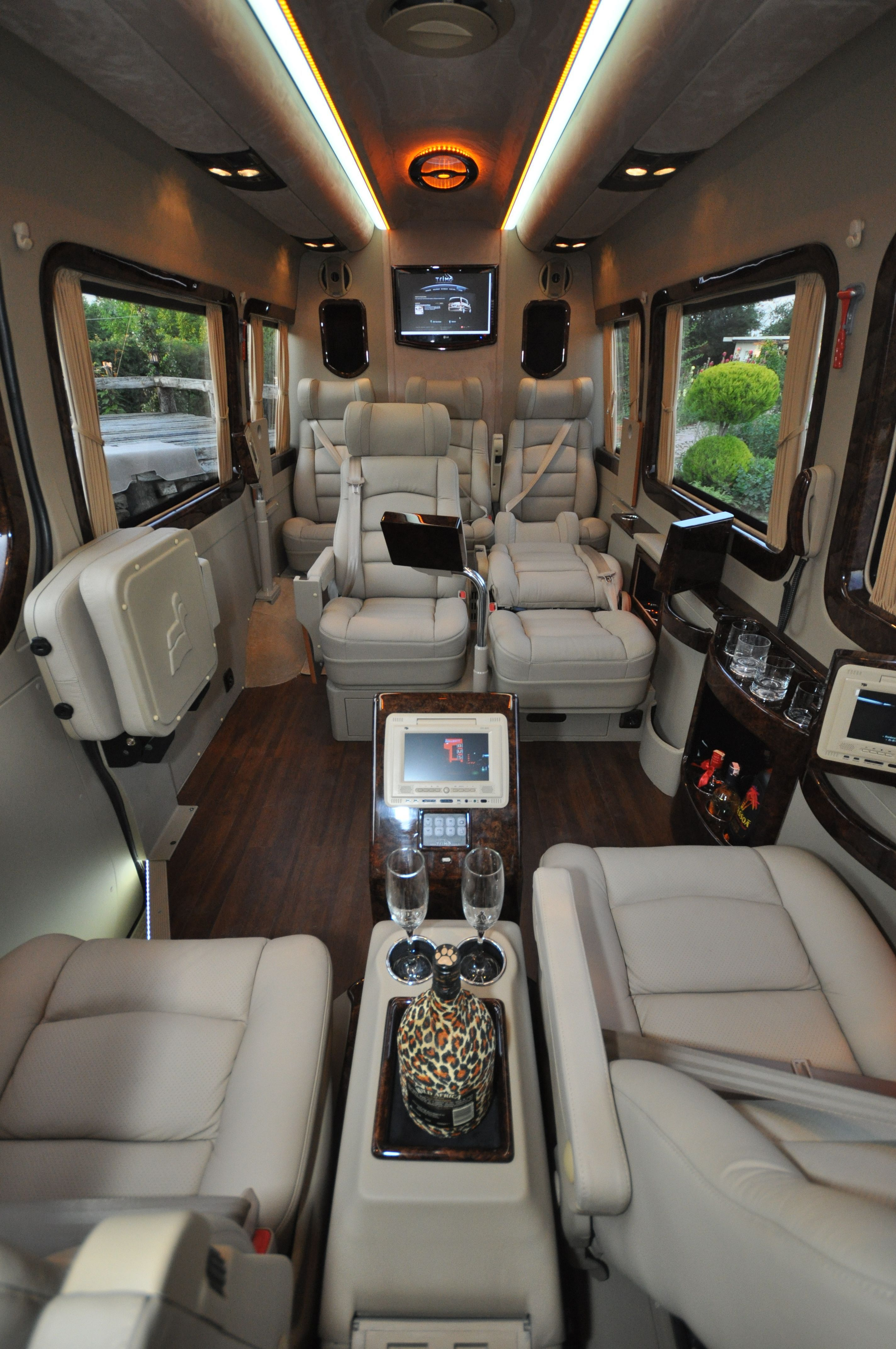 Custom sprinter van ceo style perfect for corporate