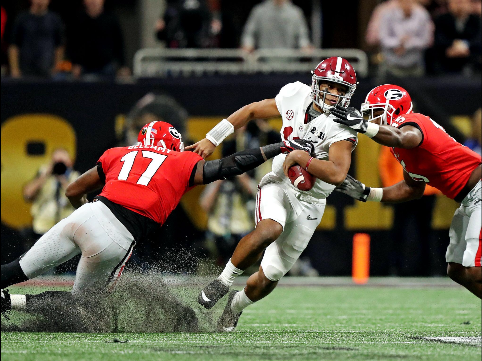 TUA! USA Today Sports picture - Alabama 26 Georgia 23 in OT