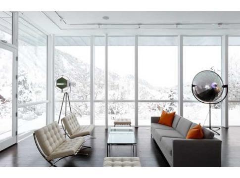 Minimal Living Room    www.daniellelakedesign.com