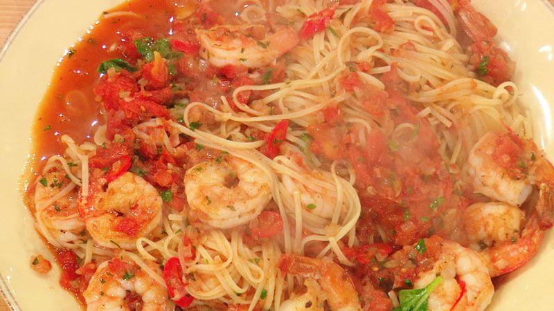 Shrimp Fra Diavolo with Linguini | Pasta Amore | Pinterest